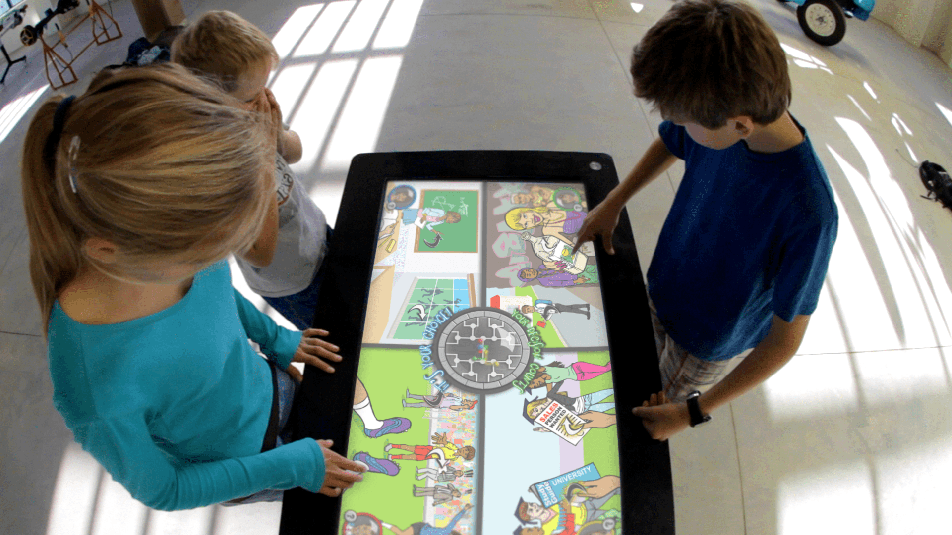 The Eco Choices Educational Game was created by Formula D interactive