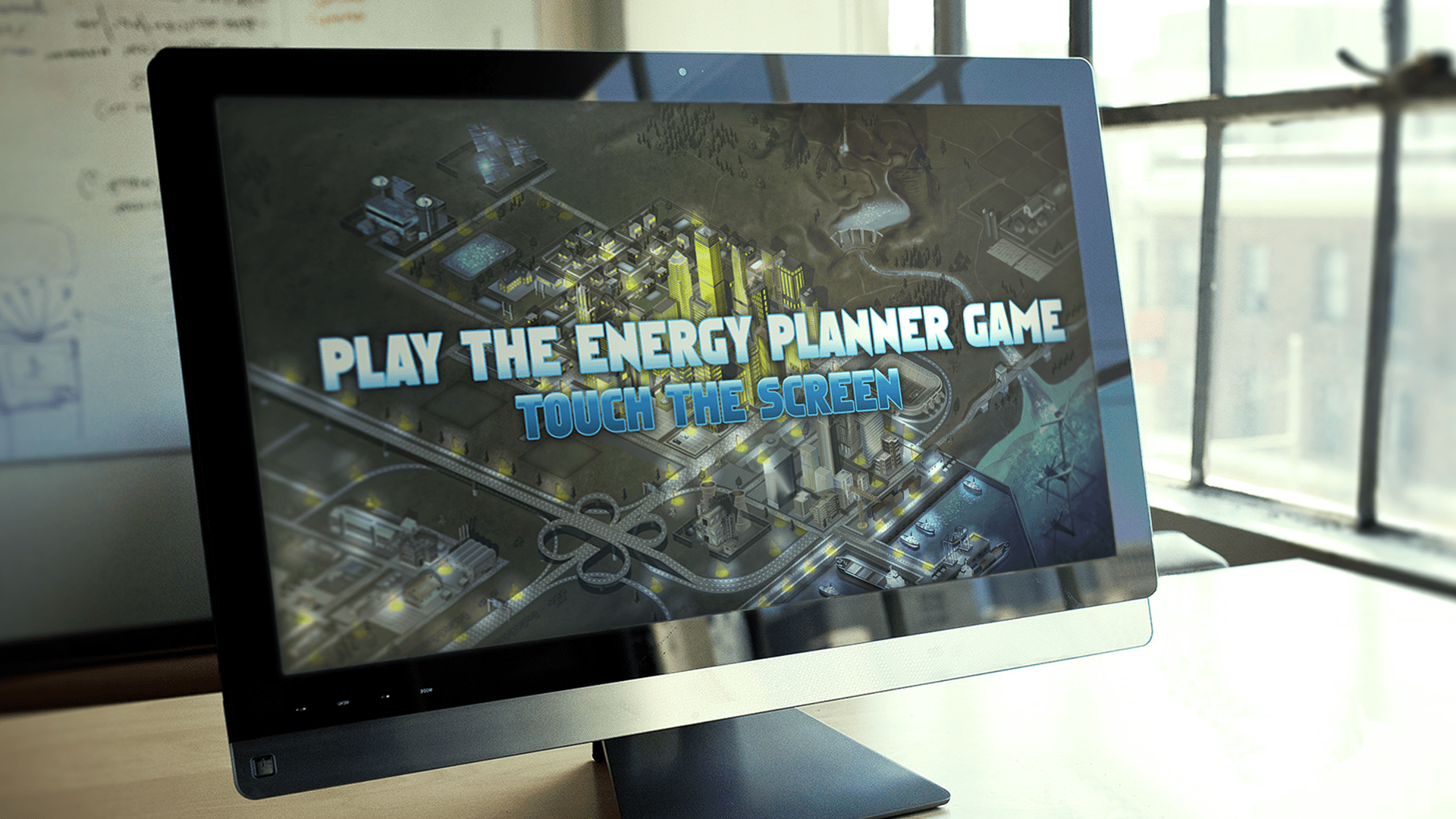 The Energy Planner serious game was created by Formula D interactive