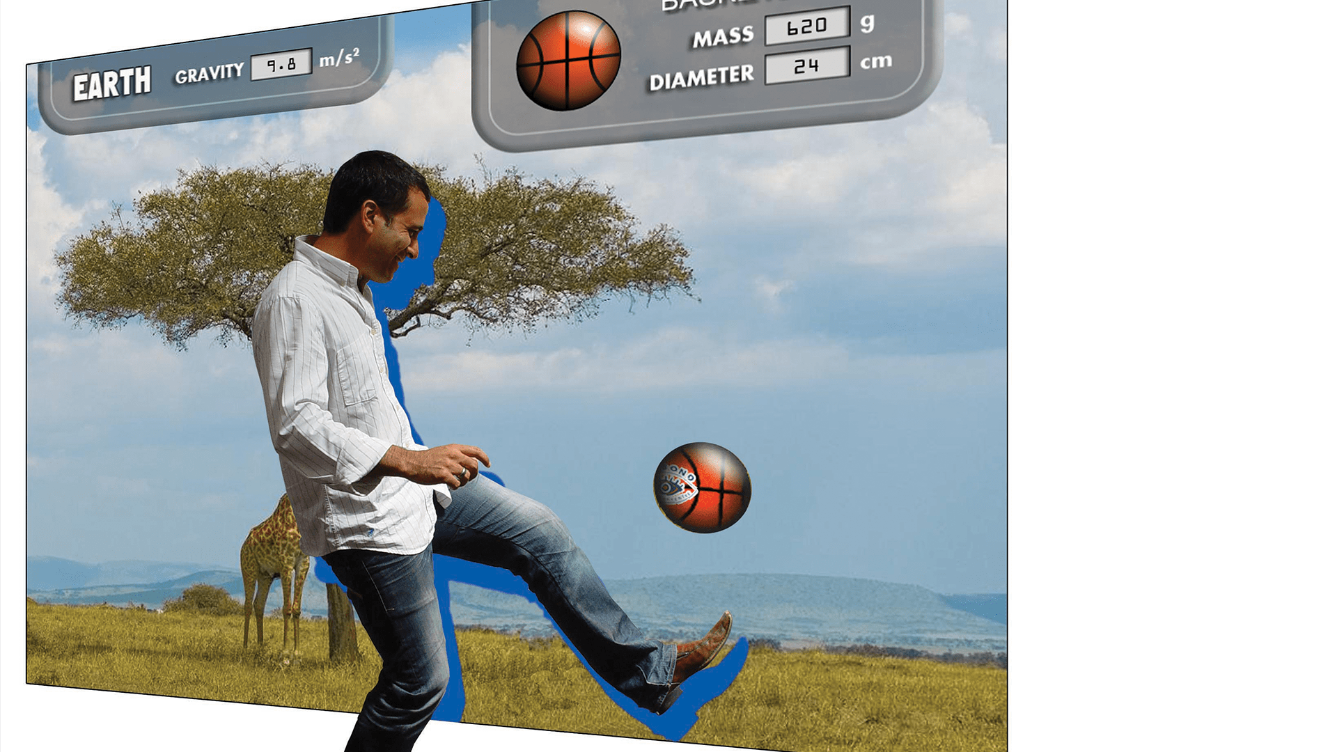 The Discovery Centre Gravity Game was created by Formula D interactive