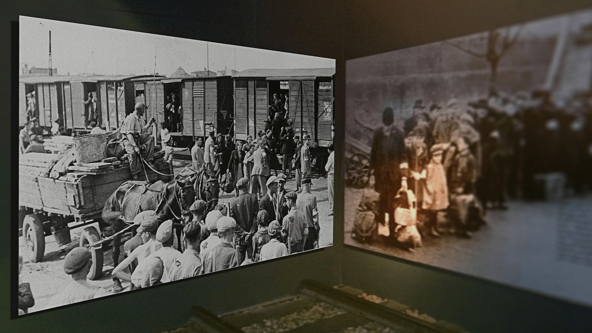The Cape Town Holocaust Museum exhibits were redesigned by Formula D interactive