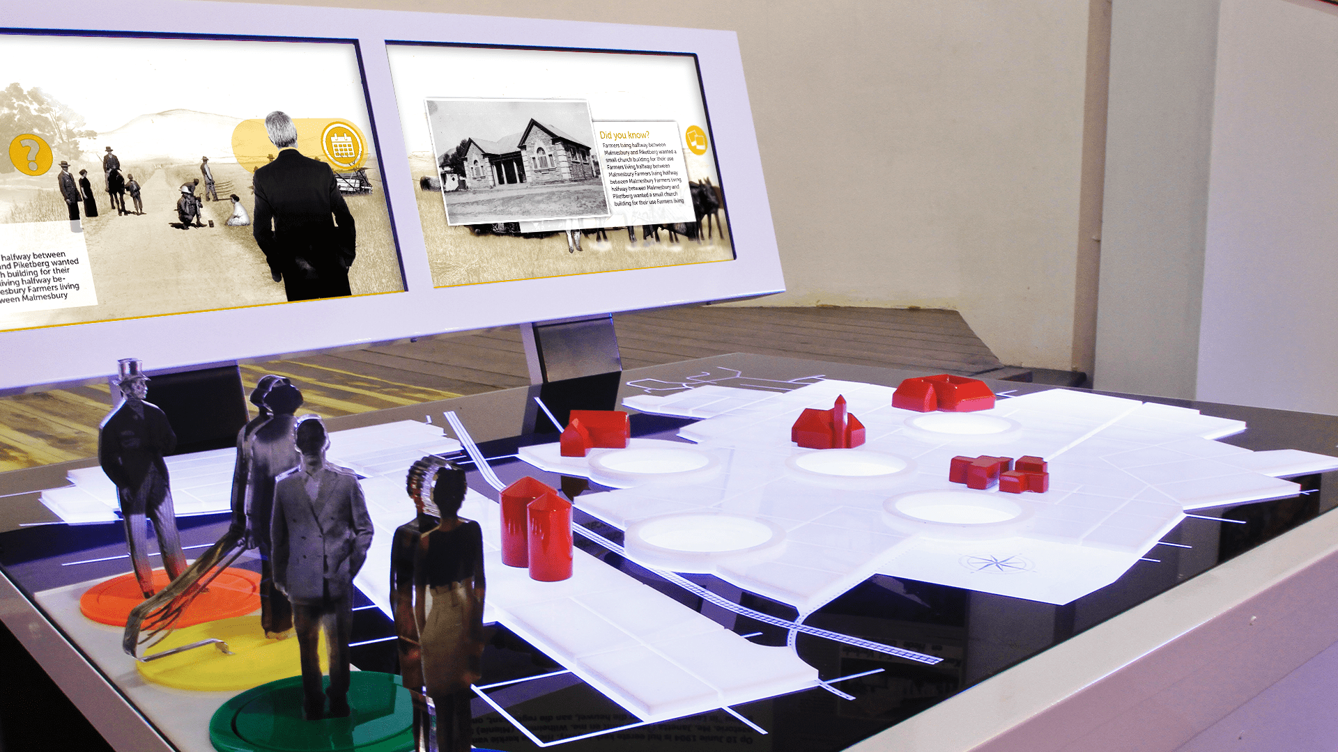 Moorreesburg Wheat History Exhibit was created by Formula D interactive