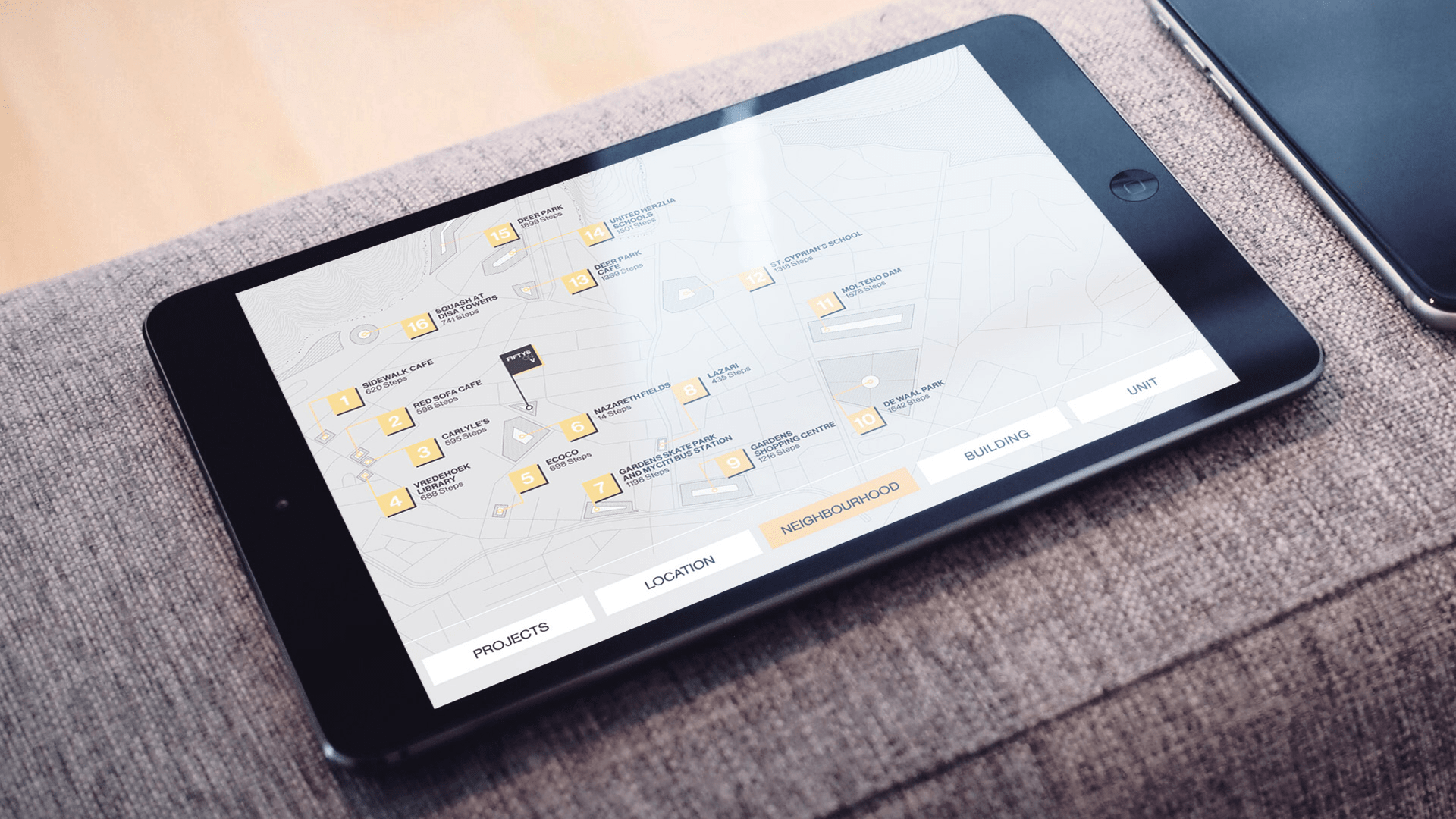 BLOK Application created by Formula D interactive